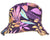 OCTAVE Reversible Bucket Hat - Purple Leaf Print/Stone