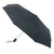 Fulton® Automatic Open & Close Unisex Compact Deluxe Folding Umbrella - Black