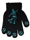 Boys Football Gripper Gloves Blue
