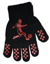 Boys Football Gripper Gloves Red