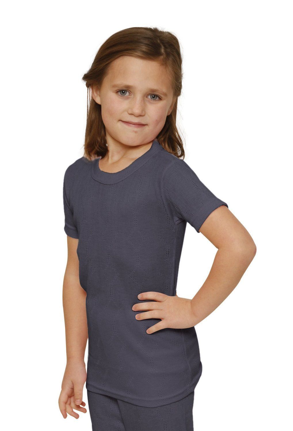 Octave® Girls Thermal Underwear Short-Sleeved Vest