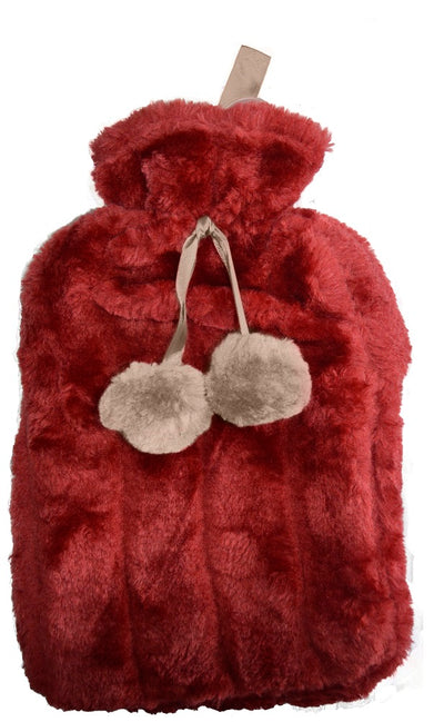 Funky Red Hot Water Bottle