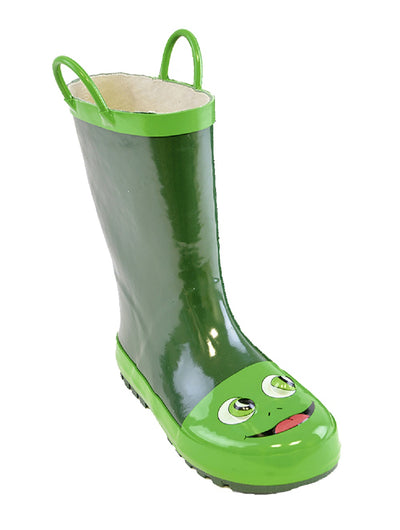 Kids Wellington Boots Frog