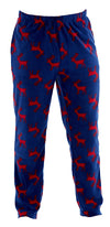OCTAVE® Mens Warm Fleece Loungewear Pants Pyjama Bottoms With Drawstring