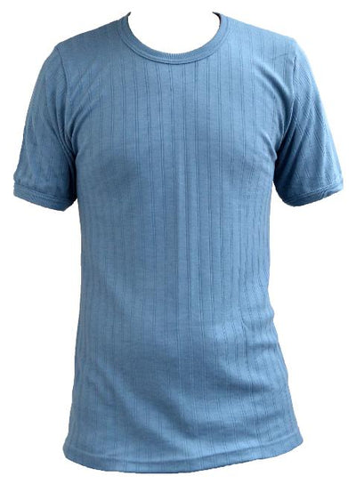 Thermal Underwear T-Shirt Blue