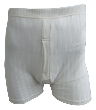 Thermal Underwear Trunks white