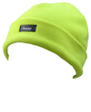 Octave Mens Hi Vis Fleece Thinsulate Beanie Hat