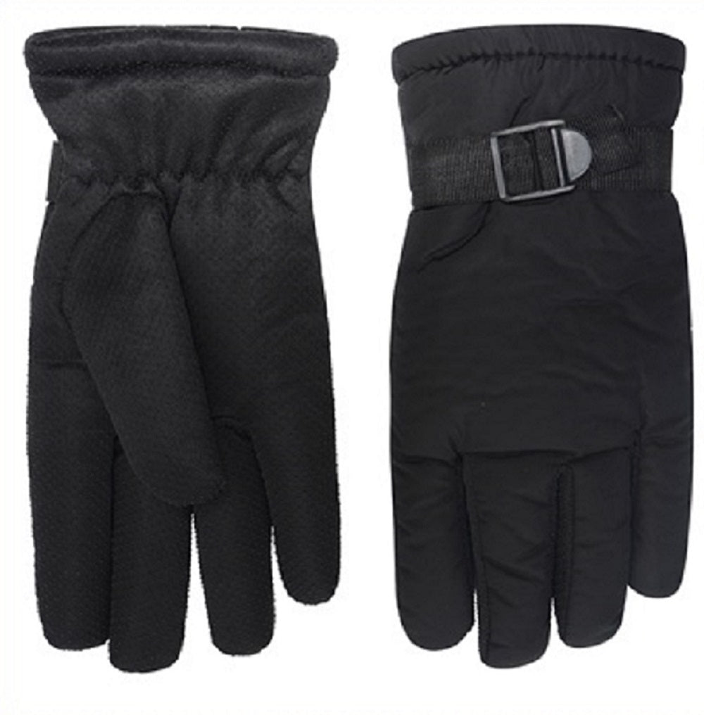 OCTAVE Mens Warm Padded Waterproof Winter Insulated Thermal Ski Gloves
