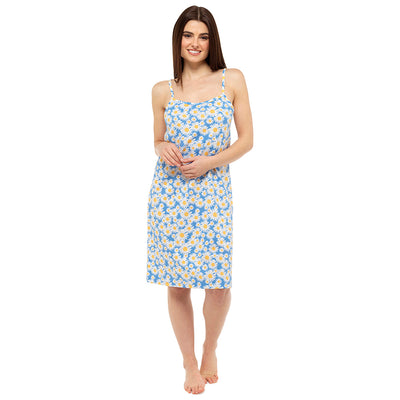 Blue Daisy chemise Nightdress nightie