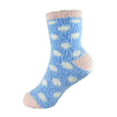 OCTAVE Ladies Soft & Fluffy Warm Evening Bed Lounge Socks