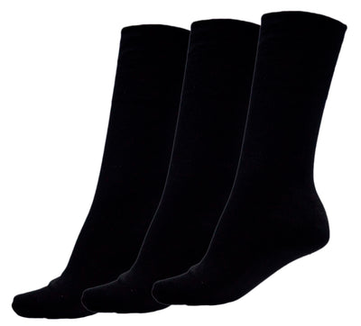 OCTAVE Womens Non Elastic Stay Up Gentle Hold Diabetic Socks - Pack of 3