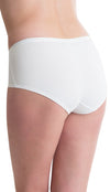 Passionelle Womens Fabric Designer Midi Knickers Briefs - Box of 3