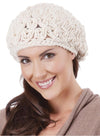 OCTAVE Ladies Star Knit Beret Hat