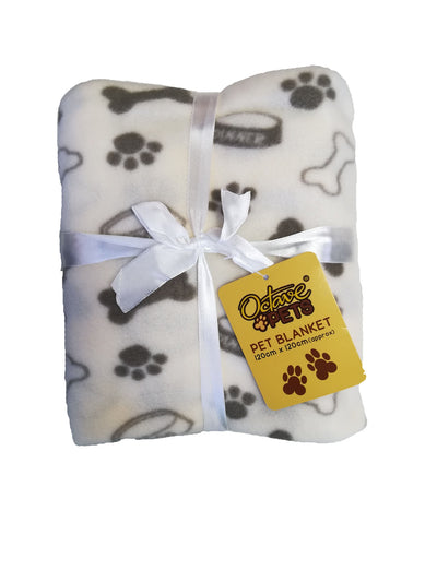 OCTAVE Pets Printed Pet Blanket - 120cm x 120cm [Approx]