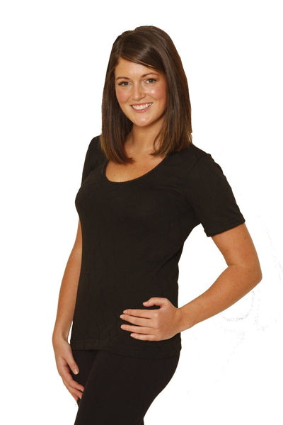 Octave® Womens Thermal Underwear Short-Sleeve Top