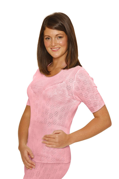 Octave® Womens Thermal Underwear Short-Sleeved Vest
