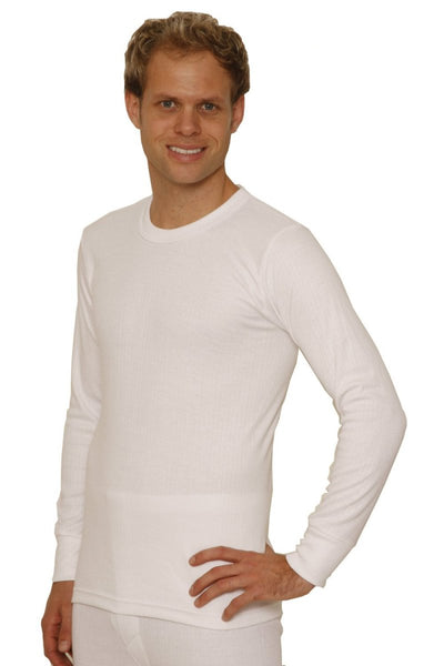 Octave® Mens Thermal Underwear Long-Sleeved Vest
