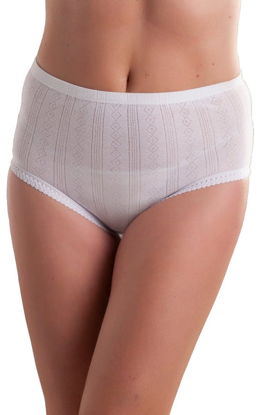 Womens white briefs