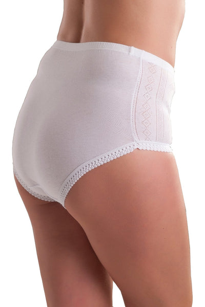 Womens white briefs comfortable