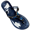 OCTAVE Ladies Summer Beach Wear Flip Flops - Jelly Sandals