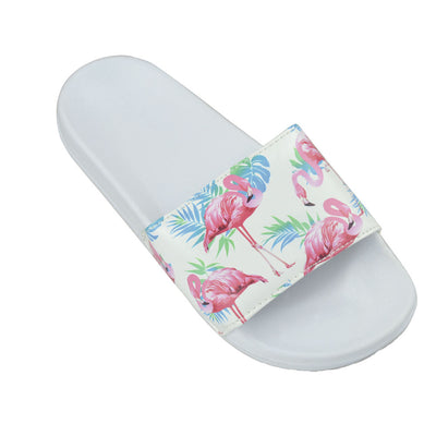 OCTAVE Ladies Sliders - Flamingo Print Design