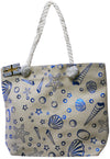 sea shell beach bags