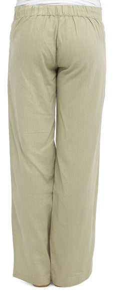 OCTAVE Ladies Linen Trousers - (Back)