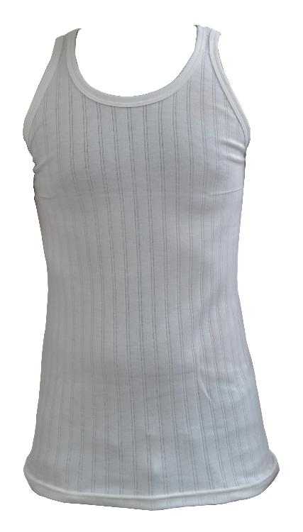 Guardian British Made Mens Classic Thermal Underwear Singlet Sleeveless Vest