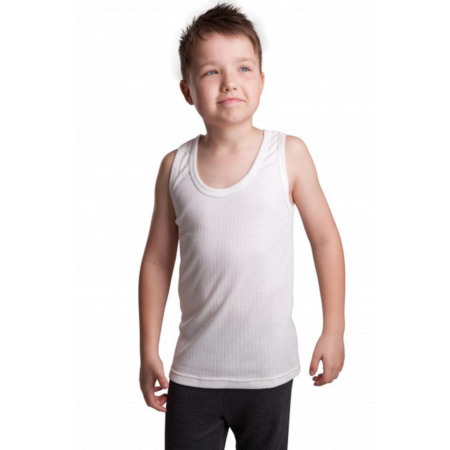 Boys Thermal Sleeveless Vest