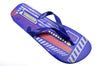 OCTAVE Mens Techno Design Flip Flops - Blue