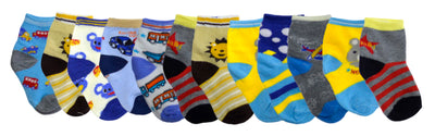 Boys Toddlers Ankle Socks designs