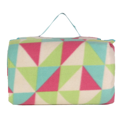Fleece Picnic Rug Triangle Design