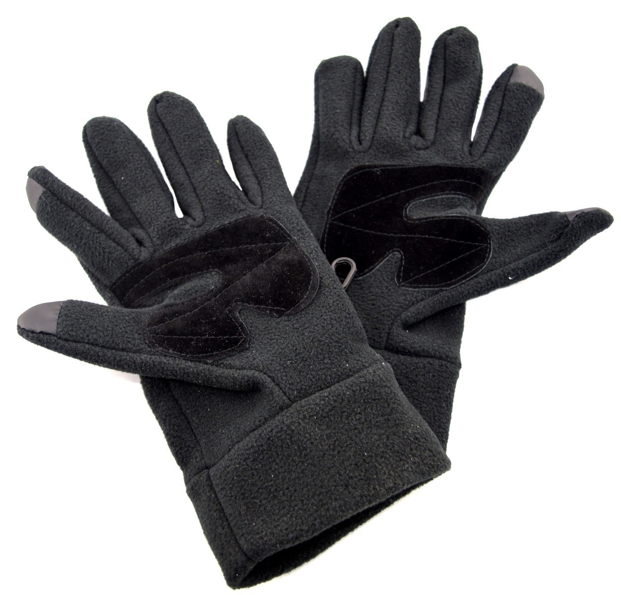 OCTAVE® Mens Black Touch Screen Gloves Ideal For ALL Touch Screen Devices
