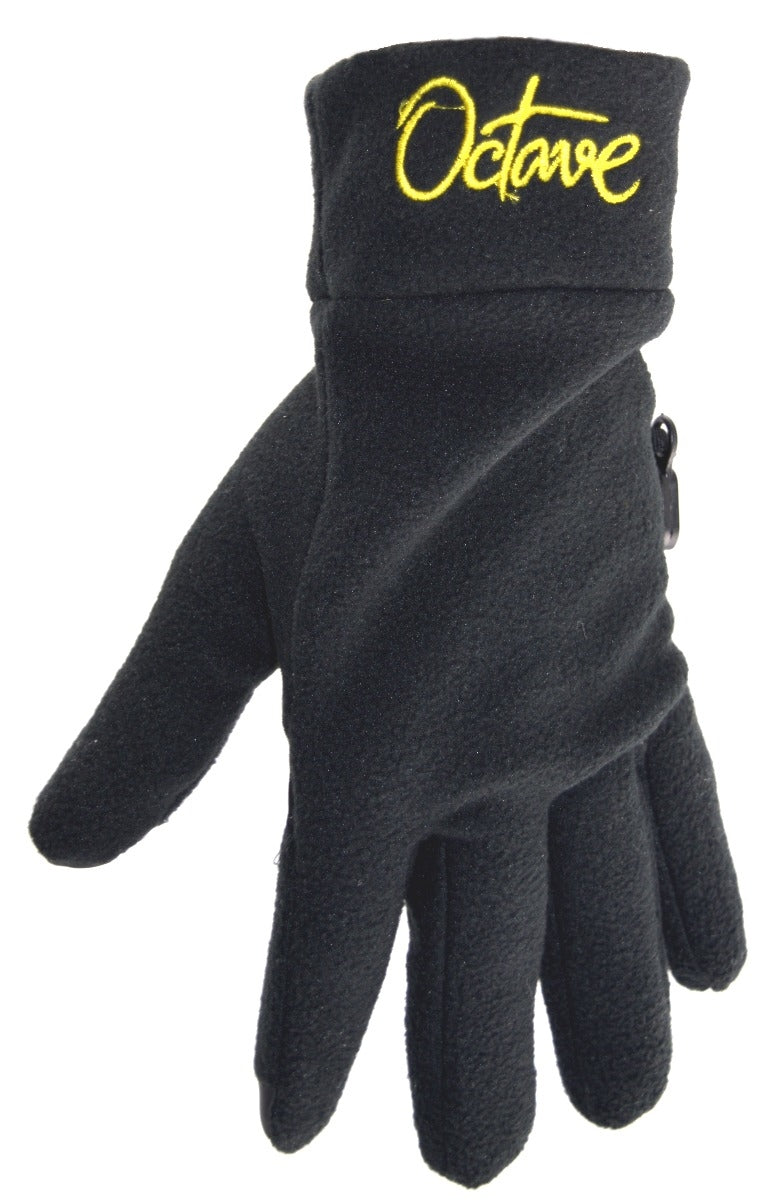 OCTAVE Mens Warm Thermal Lined Fleece Winter Touch Screen Gloves With Palm Grip