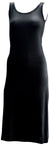 Ladies maxi dress black