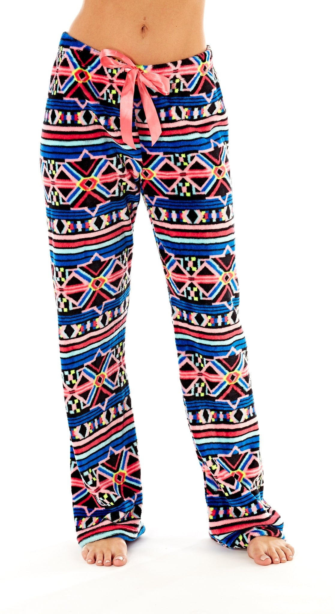 Octave Ladies Loungewear Pants Pyjama Bottoms - Aztec