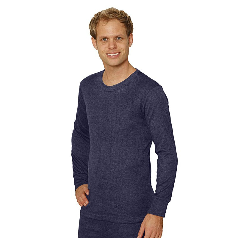OCTAVE Mens Thermal Underwear Long Sleeve T-Shirt / Vest / Top