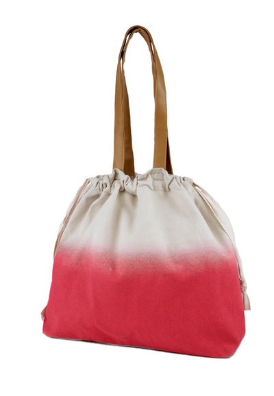 Ladies pink beach bag