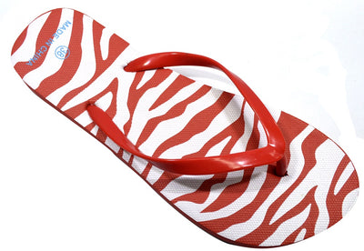 Zebra Design - Red