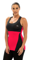 OCTAVE Ladies Sport Fitness Sleeveless Vest Top Set - Yoga / Gym / Workouts