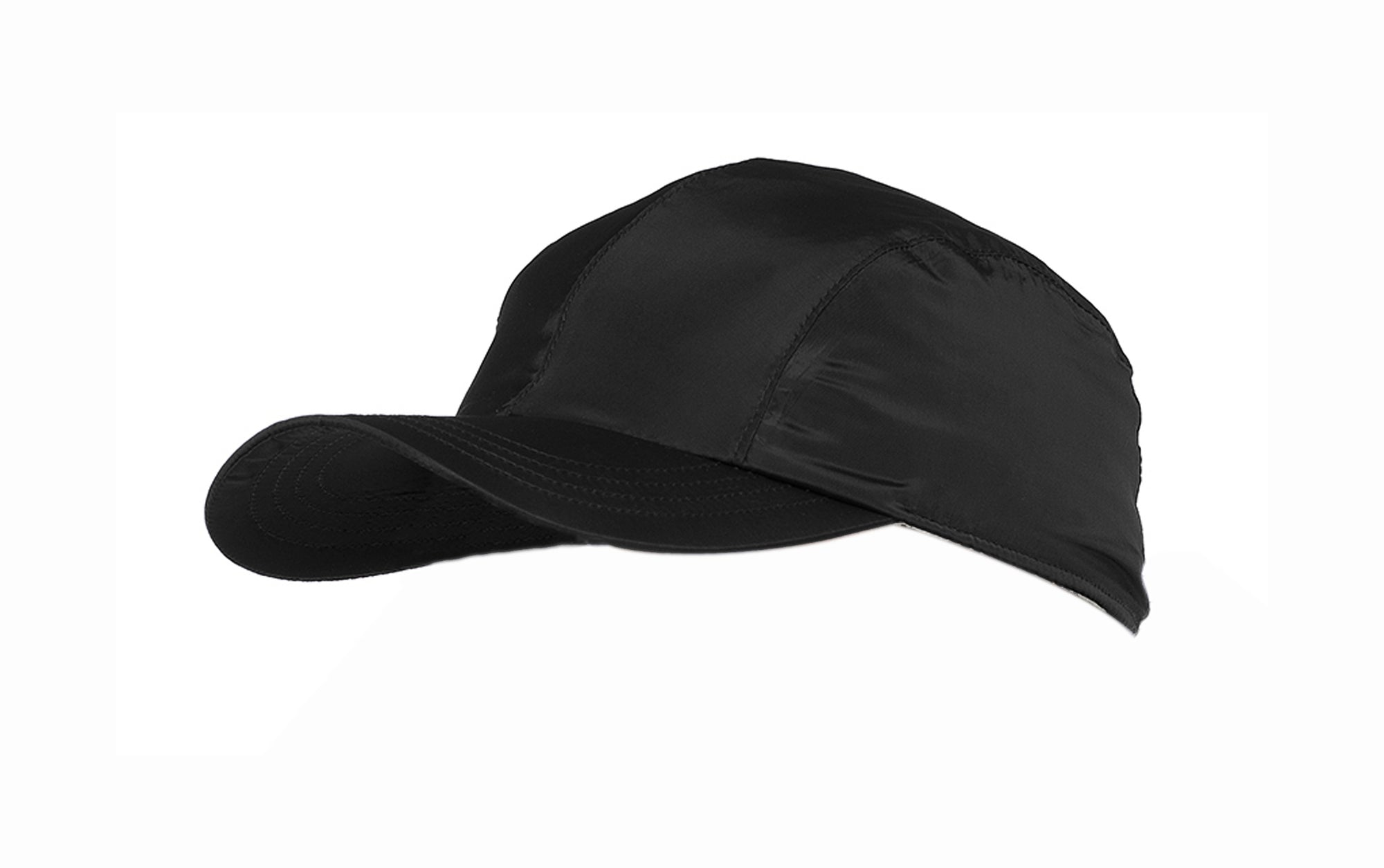 Octave Mens Waterproof Baseball Cap - Black