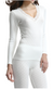 Palm Ladies/Womens Stylish Brushed Side Seam Free Thermal Long Sleeve Vest