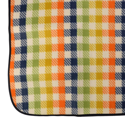 OCTAVE Fleece Picnic Rug Great Outdoor Folding Blanket With Waterproof Backing