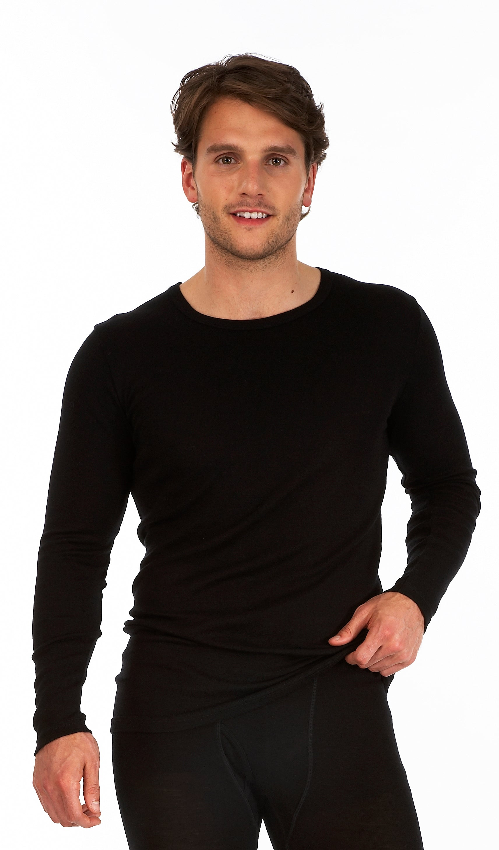 Long Sleeve Round Neck Thermal Top Base Layer