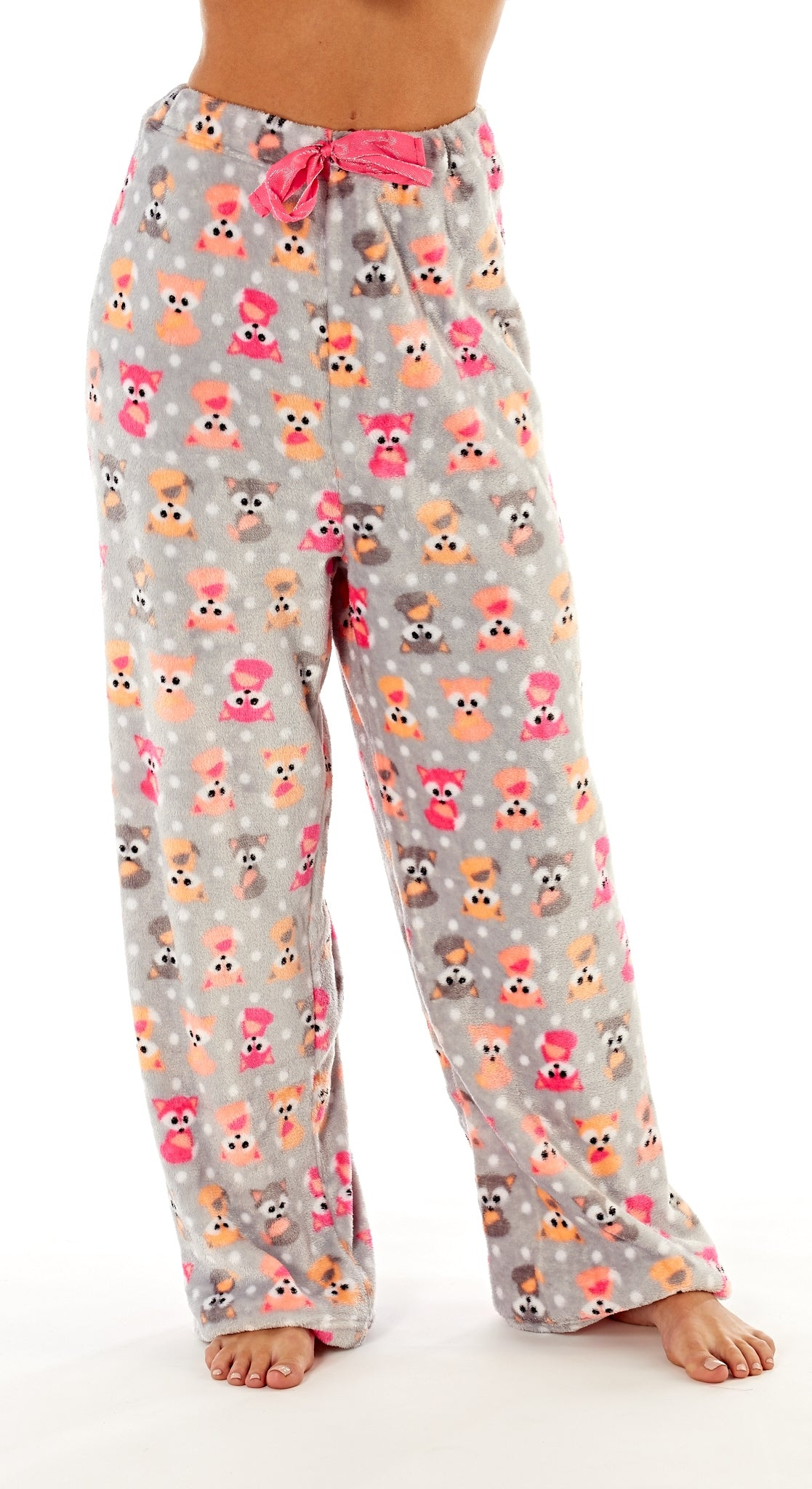 Octave Ladies Loungewear Pants Pyjama Bottoms - Fox