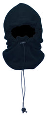 OCTAVE Unisex Fleece 4 In 1 Multi Functional Hood Gator Balaclava Neck Warmer