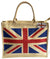 OCTAVE Summer Beach Tote Handbags Collection - Union Jack Design