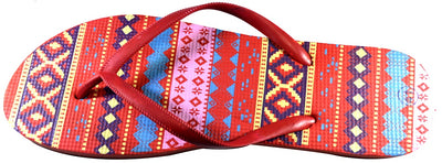 Aztec Design - Red