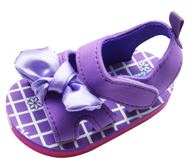 MABINI Baby Girls Purple Summer Sandals