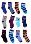 Boys Toddlers Ankle Socks In Cool Funky Designs
